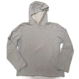 Helmut Lang Gray Pullover Hoodie Mens Large Cotton
